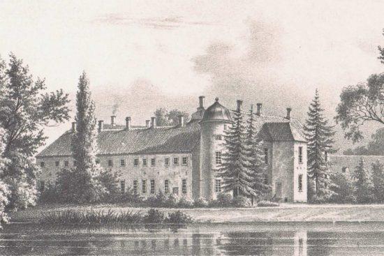 Hvedholm Slotshotel Historie