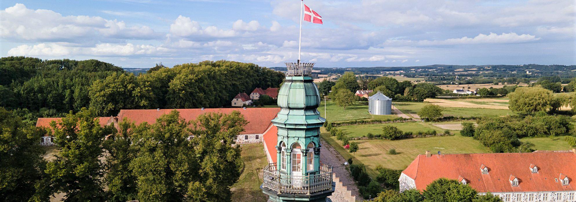 Hvedholm Slot Tårn